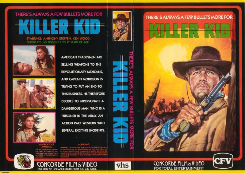 Killer Kid/Video Cover...