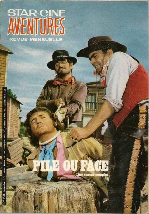 La dernière balle à pile ou face . ( Testa o croce ) 1968 . Piero Pierotti . 236sca