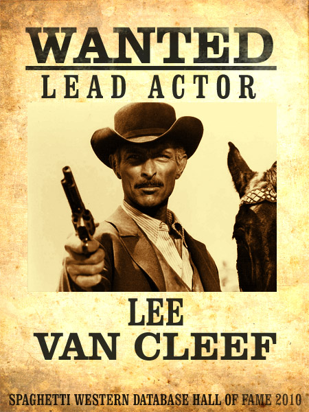 SWDB Hall of Fame/Leading Actors - The Spaghetti Western