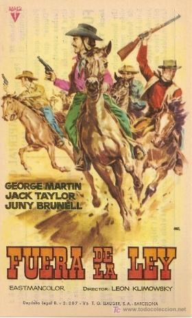 Billy le Kid ( Fuera de la ley ) .1963 . Leon Klimovsky. Billythekid22