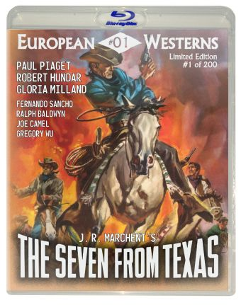 Seven from Texas BluRay