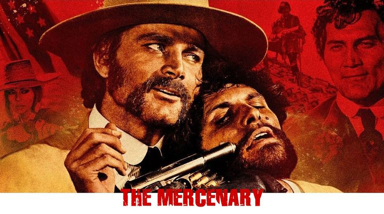 the mercenary 1968 blu ray