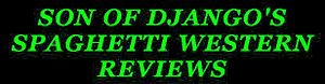 Phil's Spaghetti Western Reviews