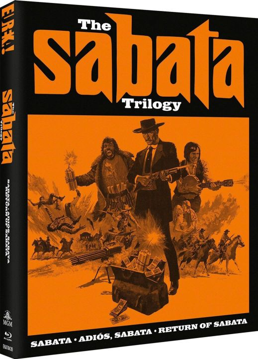Sabata Trilogy BluRay